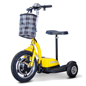 E-Wheels 3-Wheel Electric Scooter EW-18 Stand n Ride Scooter 3-Wheel